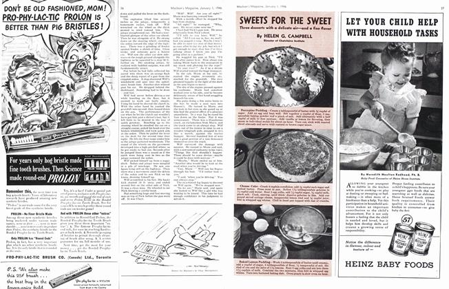 Article Preview: SWEETS FOR THE SWEET, January 1946   Maclean's
