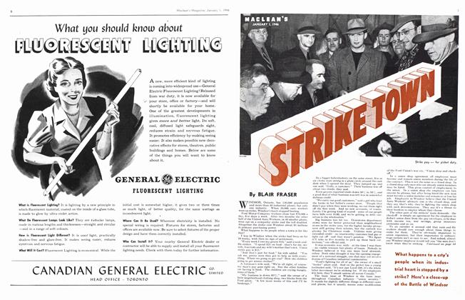 Article Preview: STRIKE TOWN, January 1946 | Maclean's