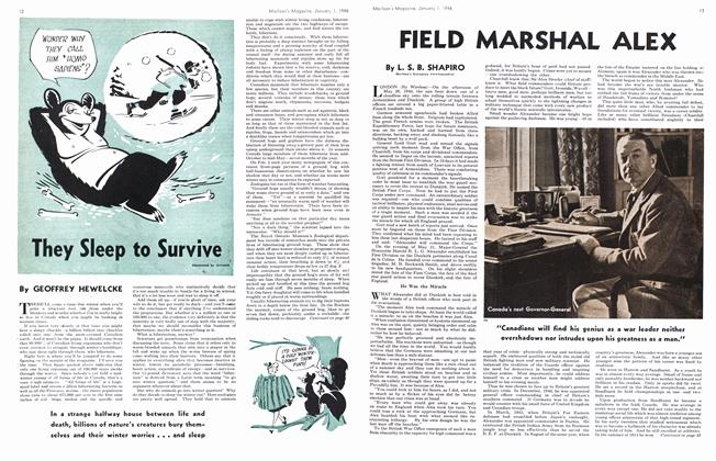 Article Preview: They Sleep to Survive, January 1946 | Maclean's