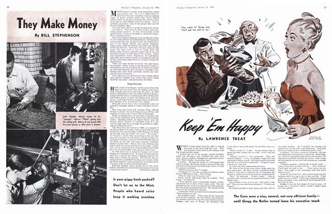 Article Preview: Keep 'Em Happy, January 1946 | Maclean's