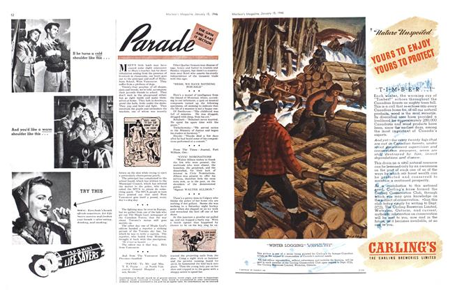Article Preview: Parade, January 1946 | Maclean's