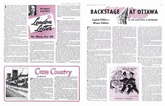 Article Preview: BACKSTAGE AT OTTAWA, January 1946 | Maclean's