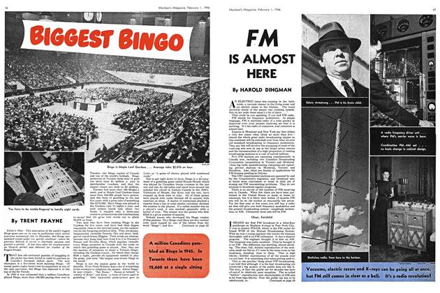 Article Preview: FM IS ALMOST HERE, February 1946 | Maclean's
