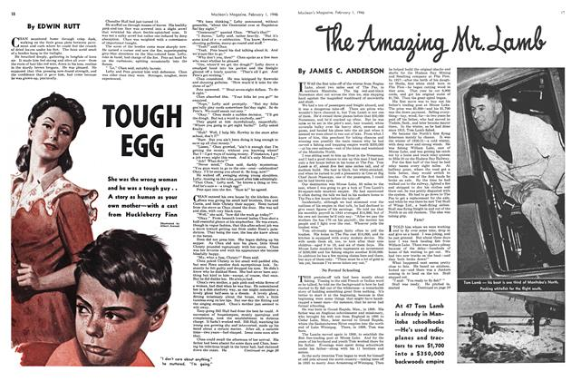 Article Preview: TOUGH EGG, February 1946 | Maclean's