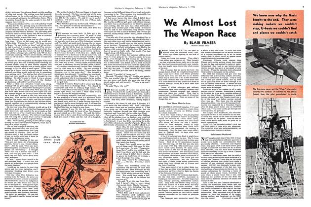 Article Preview: We Almost Lost The Weapon Race, February 1946 | Maclean's