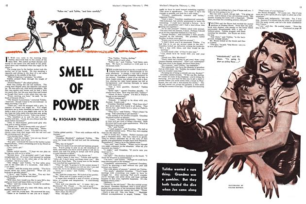 Article Preview: SMELL OF POWDER, February 1946 | Maclean's
