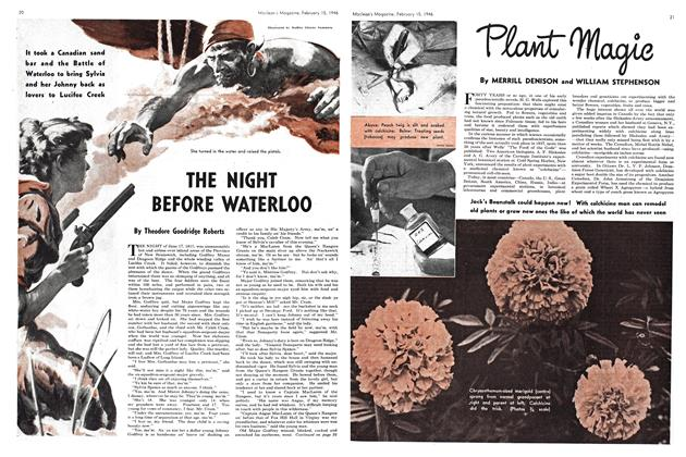Article Preview: THE NIGHT BEFORE WATERLOO, February 1946 | Maclean's