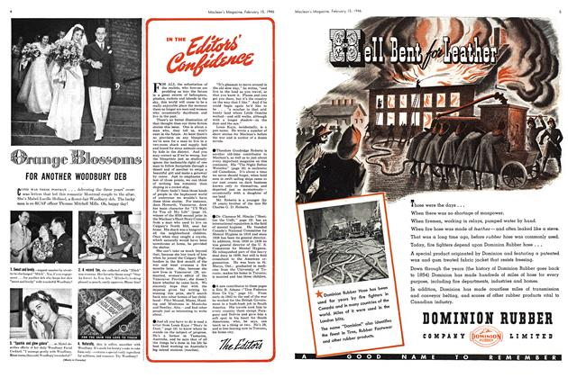 Article Preview: IN THE Editor's Confidence, February 1946 | Maclean's