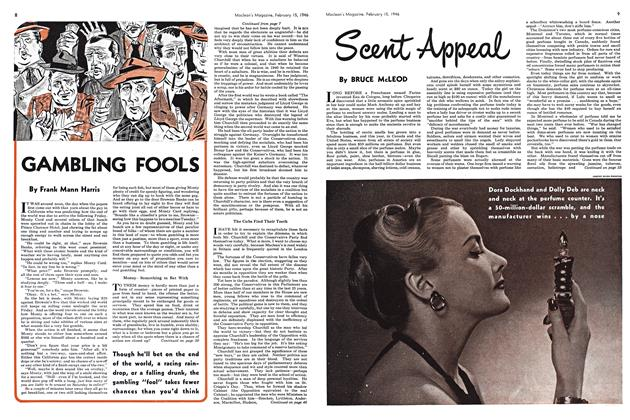 Article Preview: Scent Appeal, February 1946 | Maclean's