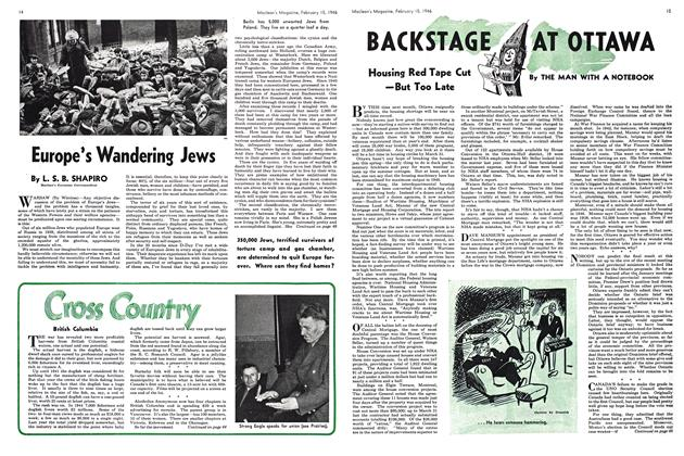 Article Preview: BACKSTAGE AT OTTAWA, February 1946 | Maclean's