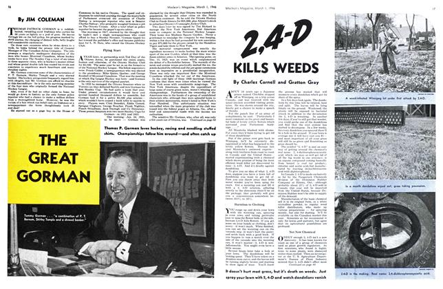 Article Preview: THE GREAT GORMAN, March 1946 | Maclean's