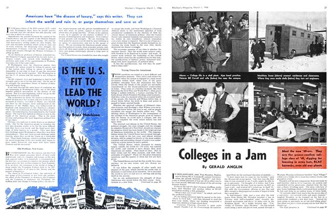 Article Preview: Colleges in a Jam, March 1946 | Maclean's