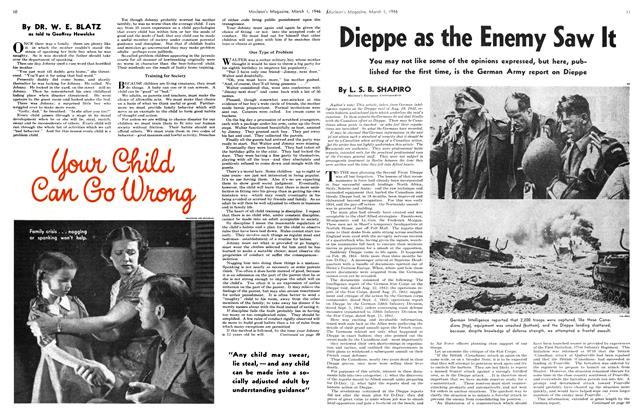 Article Preview: Your Child Can Go Wrong, March 1946 | Maclean's
