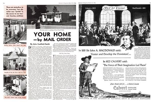 Article Preview: YOUR HOME —by MAIL ORDER, March 1946 | Maclean's
