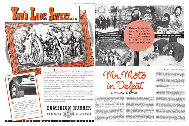 Article Preview: mr.moto in Defeat, March 1946 | Maclean's