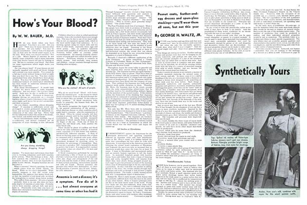 Article Preview: How's Your Blood?, March 1946 | Maclean's