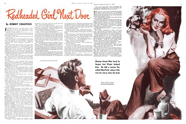 Article Preview: Redheaded Girl Next Door, March 1946 | Maclean's