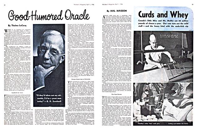 Article Preview: Good-Humored Oracle, April 1946 | Maclean's