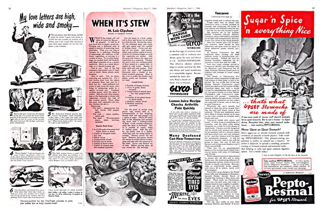 Article Preview: WHEN IT'S STEW, April 1946 | Maclean's