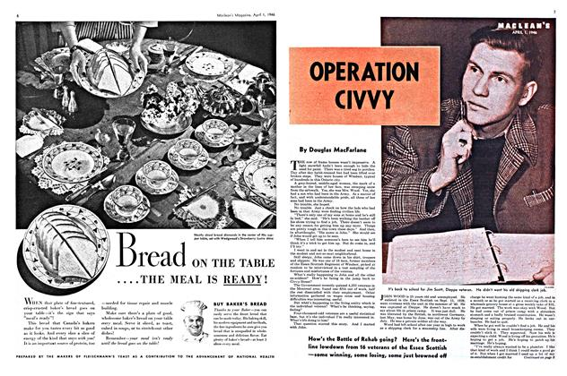 Article Preview: OPERATION CIVVY, April 1946 | Maclean's