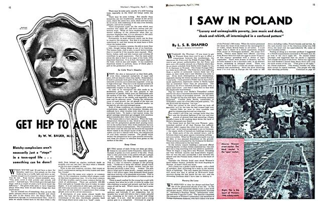 Article Preview: GET HEP TO ACNE, April 1946 | Maclean's