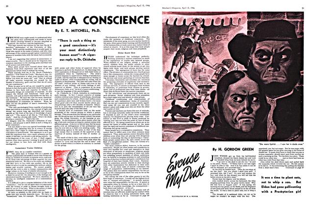 Article Preview: Excuse My Dust, April 1946 | Maclean's