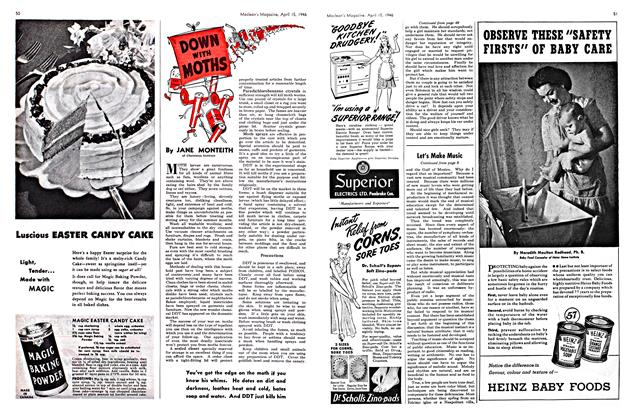 Article Preview: DOWN WITH MOTHS, April 1946 | Maclean's