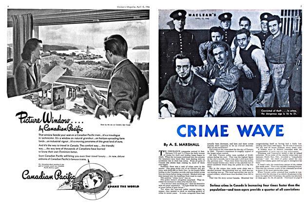 Article Preview: CRIME WAVE, April 1946 | Maclean's