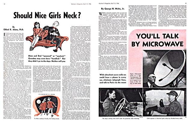 Article Preview: Should Nice Girls Neck?, April 1946 | Maclean's