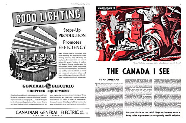 Article Preview: THE CANADA I SEE, May 1946 | Maclean's
