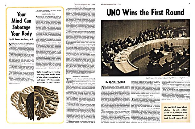 Article Preview: UNO Wins the First Round, May 1946 | Maclean's