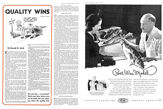 Article Preview: QUALITY WINS, May 1946 | Maclean's