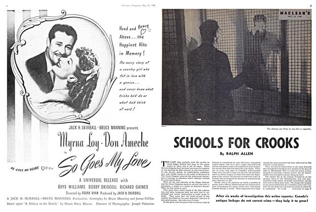Article Preview: SCHOOLS FOR CROOKS, May 1946 | Maclean's