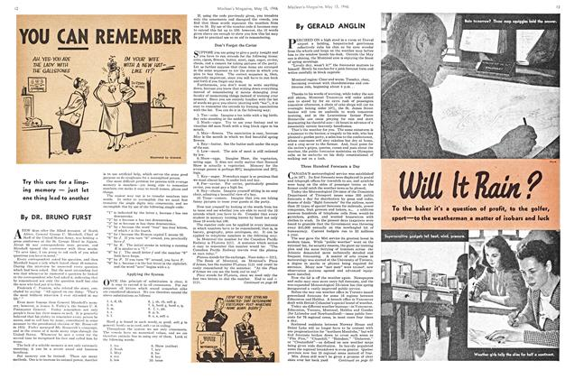 Article Preview: Will It Rain?, May 1946 | Maclean's