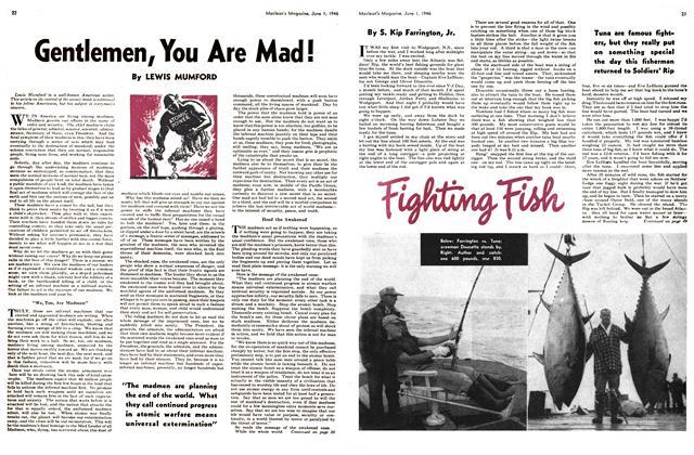 Article Preview: Fighting Fish, June 1946 | Maclean's