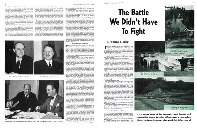 Article Preview: The Battle We Didn't Have To Fight, June 1946 | Maclean's