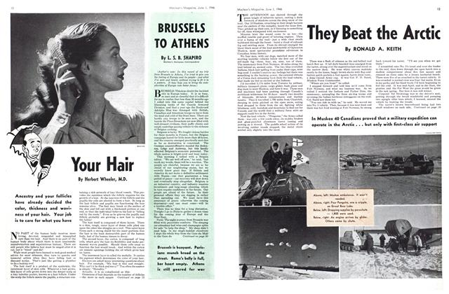 Article Preview: BRUSSELS TO ATHENS, June 1946 | Maclean's