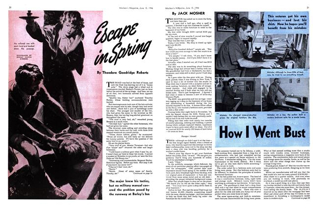 Article Preview: Escape in Spring, June 1946 | Maclean's
