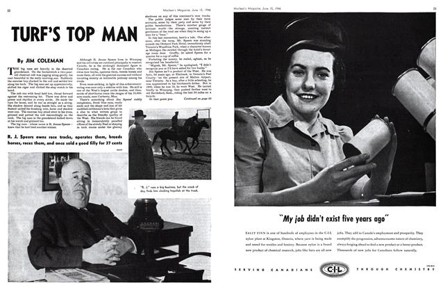 Article Preview: TURF'S TOP MAN, June 1946 | Maclean's