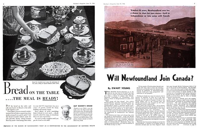 Article Preview: Will Newfoundland Join Canada?, June 1946 | Maclean's