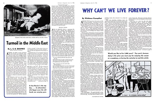 Article Preview: Turmoil in the Middle East, June 1946 | Maclean's