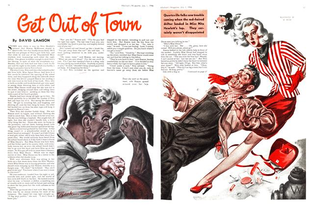 Article Preview: Get Out of Town, July 1946 | Maclean's