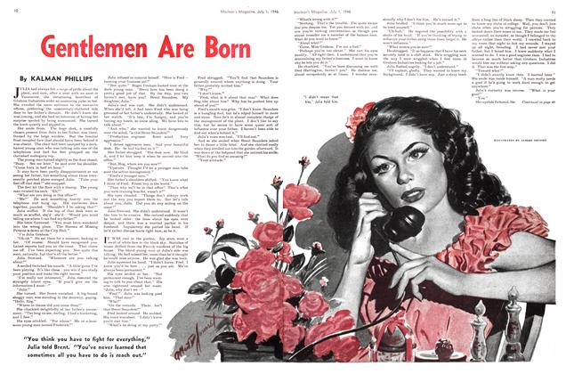 Article Preview: Gentlemen Are Born, July 1946 | Maclean's