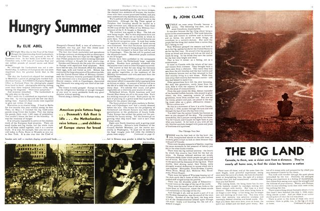 Article Preview: Hungry Summer, July 1946 | Maclean's