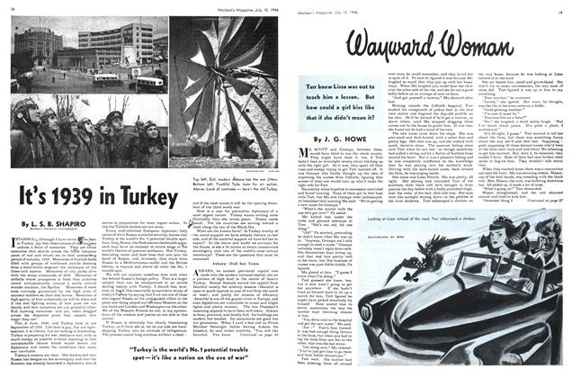 Article Preview: It's 1939 in Turkey, July 1946 | Maclean's