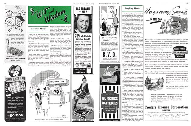 Article Preview: Wit and Wisdom, July 1946 | Maclean's