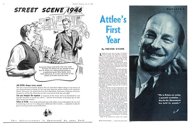 Article Preview: Attlee's First Year, July 1946 | Maclean's