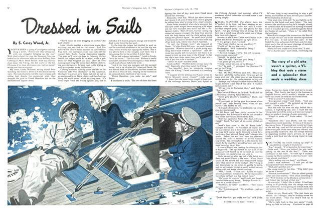 Article Preview: Dressed in Sails, July 1946 | Maclean's