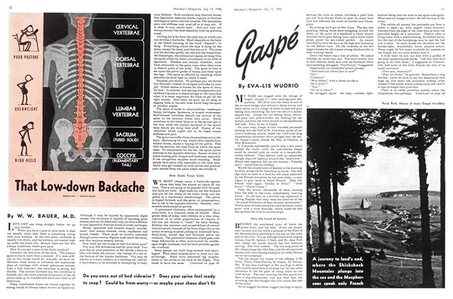 Article Preview: Gaspé, July 1946 | Maclean's