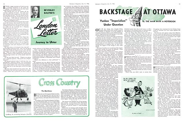 Article Preview: BACKSTAGE AT OTTAWA, July 1946 | Maclean's